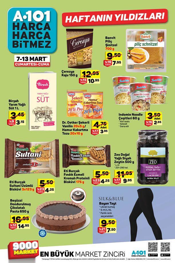 A101 Market 7 Mart 2020 Haftanın Yıldızları