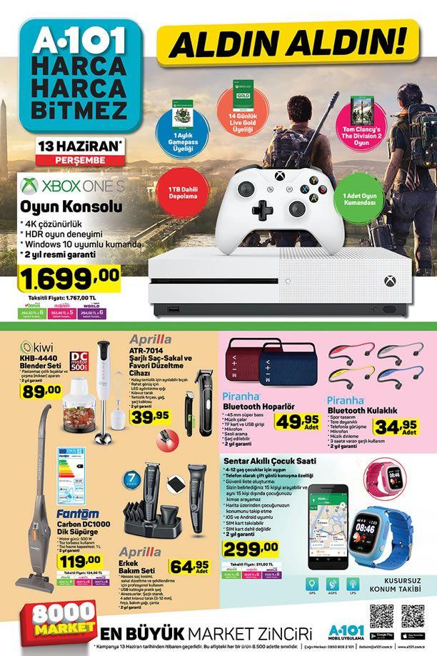 A101 Xbox One S Oyun Konsolu - A101 13 Haziran 2019 Aldın Aldın