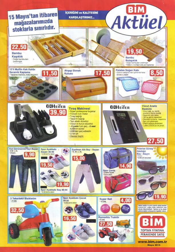 BİM 15 Mayıs 2015 Aktüel Ürünler Katalogu - Heifer Tıraş Makinesi