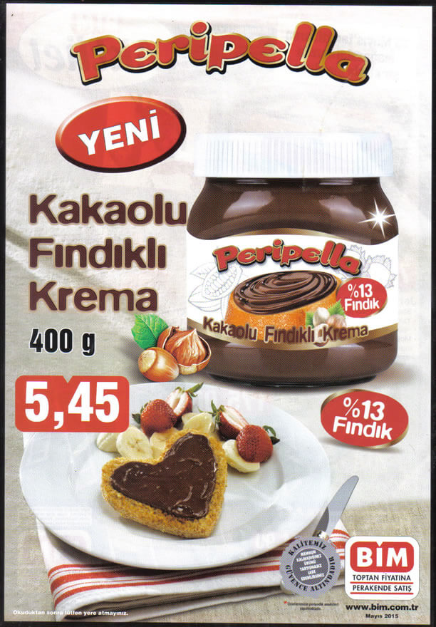BİM 15 Mayıs 2015 Aktüel Ürünler Katalogu - Peripella