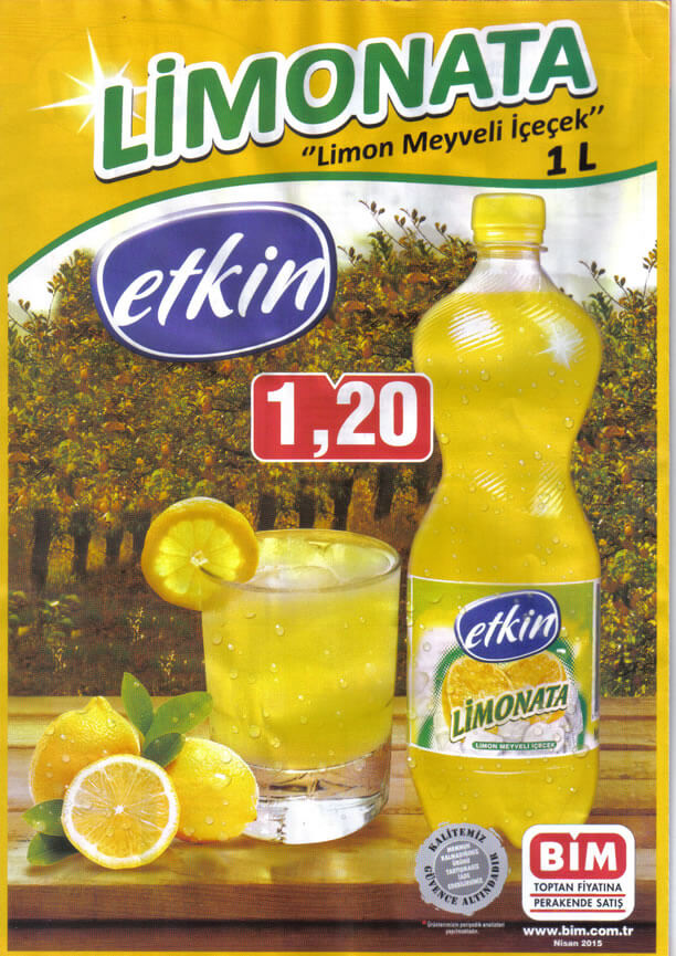 Bim 24 Nisan 2015 Aktüel Ürünler Kataloğu - Etkin Limonata