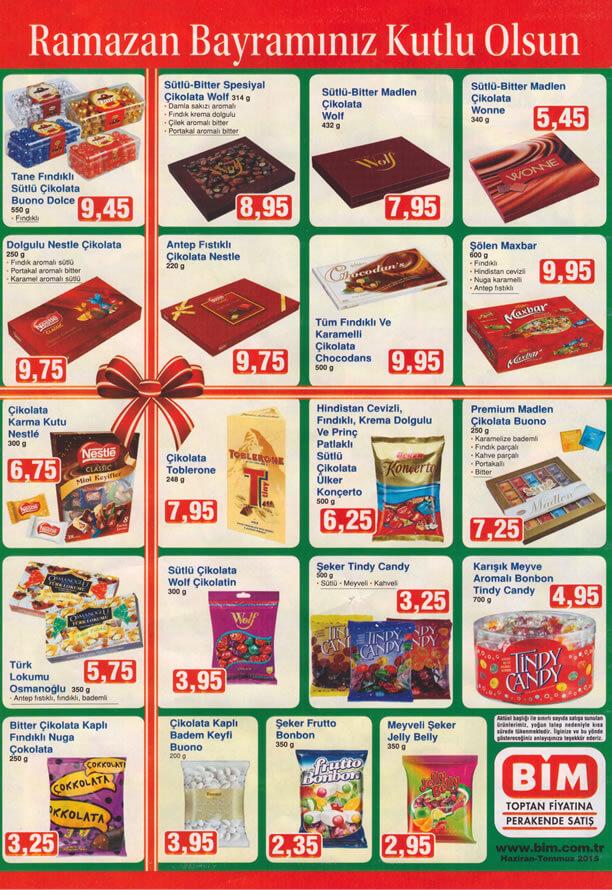 Bim 26 Haziran 2015 Aktüel Ürünler Katalogu - Ramazan Bayramı
