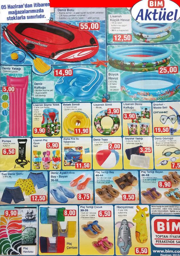 Bim 5 Haziran 2015 Aktüel Ürünler Katalogu - Deniz Botu