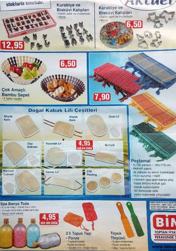 Bim 5 Haziran 2015 Aktüel Ürünler Katalogu - Peştamal