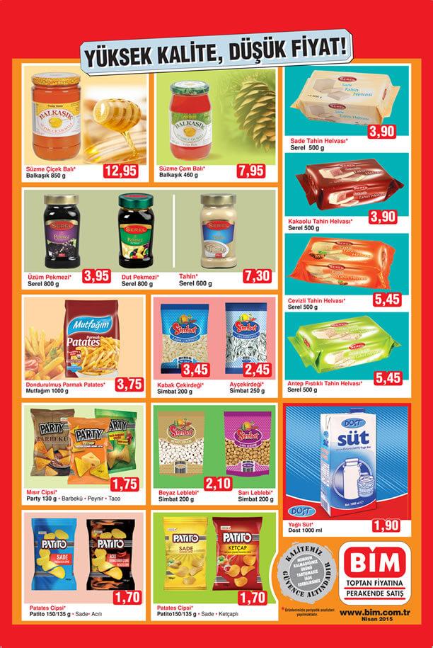 BİM Aktüel Ürünler 3 Nisan 2015 Kataloğu - Düşük Fiyat