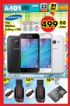 23 Temmuz A101 Aktüel Ürünler - Samsung Galaxy J100