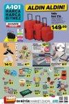 24 Mayıs A101 Aktüel Katalogu - Valiz Seti