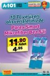 A101 10 TL Üzeri Parex Smart Mikrofiber Bez - 25 Kasım - 1 Aralık