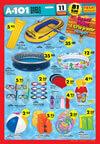 A101 11 Haziran 2015 Aktüel Ürünler Katalogu - Deniz - Plaj Malzemleri