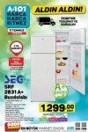A101 11 Temmuz 2019 Aktüel Kataloğu - SEG Buzdolabı