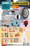 A101 12 Kasım 2020 Aldın Aldın - Michelin Alpin 6 Kış Lastiği