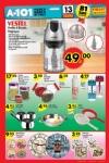 A101 13.08.2015 Aktüel Ürünler Katalogu - Vestel Perilla Doğrayıcı