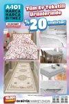 A101 13 - 26 Mart 2021 Ev Tekstili İndirim Broşürü