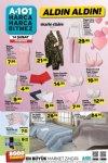 A101 14 Şubat 2019 Kataloğu - Bayan Giyim ve Ev Tekstili