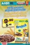 A101 16 Eylül 2017 - Nesquik Kahvaltılık Mısır Gevreği