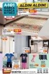 A101 16 Eylül 2021 Aldın Aldın Kataloğu - Kadife Kaymaz Salon Halısı