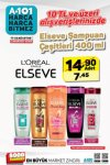 A101 17 Ağustos - 23 Ağustos 2019 İndirimi - Elseve Şampuan