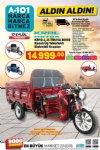 A101 17 Eylül Kataloğu - Kral Motor Kasalı 3 Tekerlekli Elektrikli Scooter