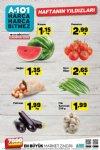 A101 18 - 24 Ağustos 2018 Sebze ve Meyve Fiyatları
