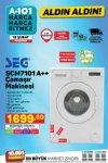 A101 18 Şubat 2021 Aktüel Kataloğu - SEG Çamaşır Makinesi