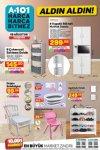 A101 19 - 25 Ağustos 2021 Kataloğu - 4 Kapaklı Bölmeli Mutfak Dolabı