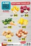 A101 20 Ekim Kataloğu - Soğan Patates Elma Limon Mandalina Fiyatları