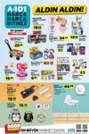 A101 20 Şubat 2020 Aktüel Ürünler Kataloğu - Mama Sandalyesi