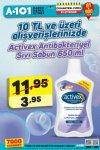 A101 21 - 27 Nisan 2018 Hafta Sonu Kampanyası - Activex Sıvı Sabun