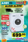 A101 21 Aralık - 27 Aralık 2017 Katalogu - SEG Çamaşır Makinesi