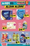 A101 21 Eylül 2017 - Temizlik Ürünleri