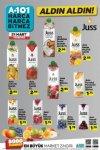 A101 21 Mart 2019 Aldın Aldın Kataloğu - Juss Meyve Suyu Çeşitleri