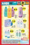 A101 22 Ağustos 2015 Aktüel Ürünler Katalogu - Johnson's Baby