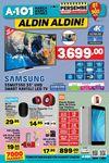 A101 22 Mart 2018 Katalogu - Samsung UHD Smart Kavisli Led Tv