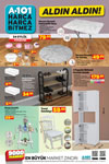 A101 24 - 30 Eylül 2020 Kataloğu - 4 Kapaklı Bölmeli Mutfak Dolabı