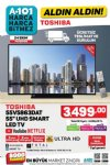 A101 24 Ekim 2019 Kataloğu - Toshiba UHD Smart Led Tv