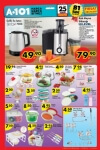 A101 25 Şubat - 2 Mart 2016 Aktüel Ürünler Katalogu - HI-LEVEL Katı Meyve Sıkacağı