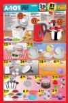 A101 26 Mart 2015 Aktüel Ürünler Kataloğu - Mutfak Gereçleri