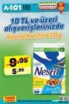 A101 27 Ocak - 2 Şubat 2018 İndirim Kataloğu - Nestle Nesfit