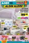 A101 28 Aralık 2017 - 3 Ocak 2018 Katalogu - Tığ İşi Dantel Yatak Örtüsü