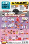 A101 29 Nisan 2021 Aldın Aldın - Mutfak ve Çeyiz Ürünleri