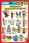 A101 3 Eylül 2015 Aktüel Ürünler Katalogu - Kalem Çeşitleri