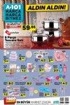 A101 30 Ağustos - 5 Eylül 2018 Kataloğu - Hascevher 6 Parça Tencere Seti