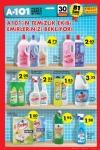 A101 30 Temmuz 2015 Aktüel Katalogu - Çiçeğim Temizlik Ürünleri