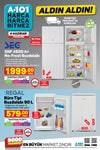 A101 4 - 10 Haziran 2020 Kataloğu - Regal Büro Tipi Buzdolabı