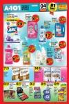 A101 4 Haziran 2016 Cumartesi Fırsatları Katalogu - Temizlik Ürünleri