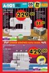 A101 5 Mayıs 2016 Fırsat Ürünleri - Singer Promise Dikiş Makşinesi