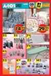 A101 5 Ocak 2017 Fırsat Ürünleri Katalogu - Pamuklu Tv Battaniyesi