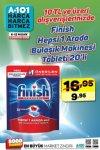 A101 6 - 12 Nisan 2019 Kampanyası - Finish Bulaşık Makinesi Tableti