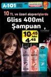 A101 8 - 14 Temmuz 2017 Kampanyası - Gliss Şampuan