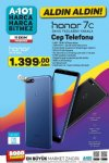 A101 Aktüel 11 Ekim 2018 Kataloğu - Honor 7C Cep Telefonu